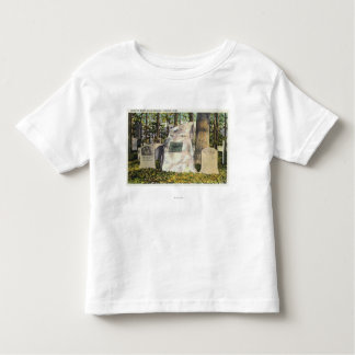 View of Ralph Waldo Emerson Gravestone Toddler T-shirt
