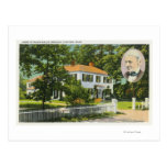 View of Ralph Waldo Emerson House Postcard