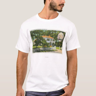 View of Ralph Waldo Emerson House T-Shirt