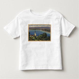 View of Redondo & Hermosa Beaches, California T-shirt
