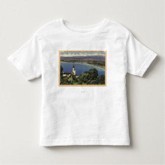 View of Redondo & Hermosa Beaches Tee Shirt
