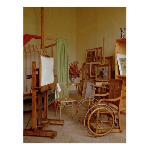 View of Renoir's studio, used from 1907 Postcard