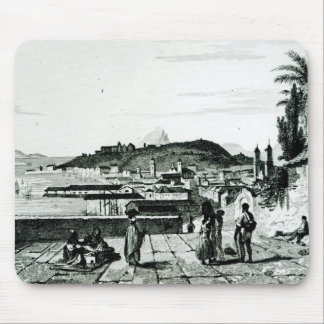 View of Rio de Janeiro from the church Mouse Pad
