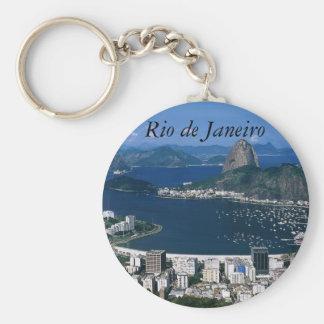 View of Rio de Janeiro Keychain