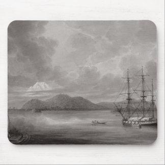 View of Rio de Manila (lithograph) Mouse Pad
