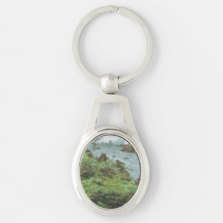 View of river keychain