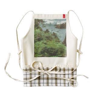 View of river zazzle HEART apron