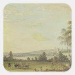 View of Rochester Square Sticker