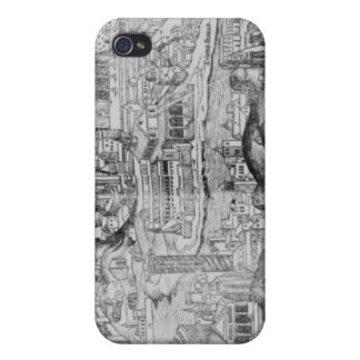 View of Rome, 1493 Cover For iPhone 4