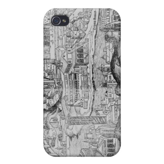 View of Rome, 1493 iPhone 4 Case