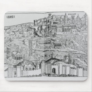 View of Rome, 1493 Mouse Pad