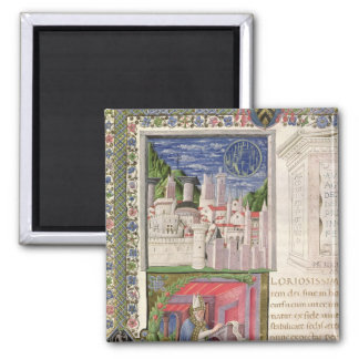 View of Rome as the City of God 2 Inch Square Magnet