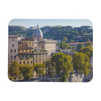 View of Rome from Castel Sant' Angelo Magnet