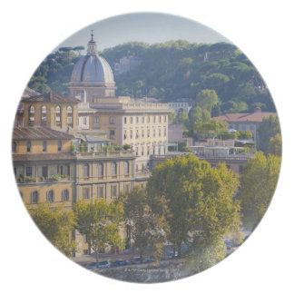 View of Rome from Castel Sant' Angelo Dinner Plates