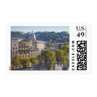 View of Rome from Castel Sant' Angelo Postage