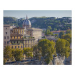 View of Rome from Castel Sant' Angelo Poster