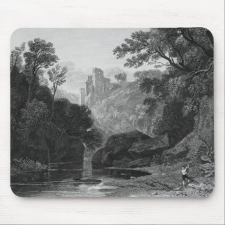 View of Roslin Castle Mouse Pad