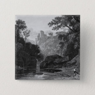 View of Roslin Castle Pinback Button