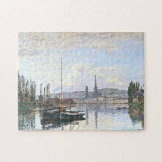 View of Rouen Monet Fine Art Jigsaw Puzzle
