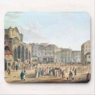 View of Saint-Germain-l'Auxerrois, c.1802 Mouse Pad