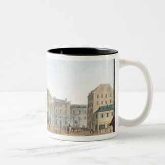 View of Saint-Germain-l'Auxerrois, c.1802 Two-Tone Coffee Mug