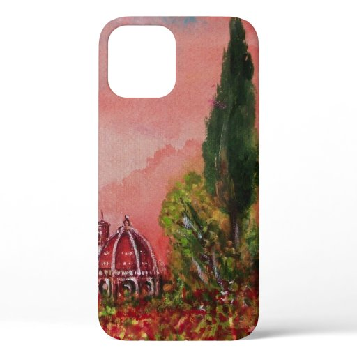 VIEW OF SAINT MARY OF FLOWER / FLORENCE IN SUNSET iPhone 12 CASE