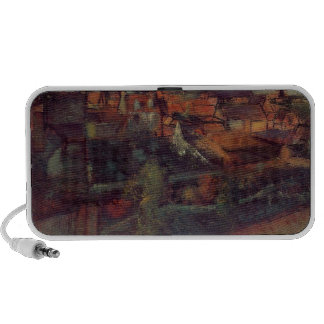 View of Saint-Valery-sur-Somme by Edgar Degas Mini Speaker