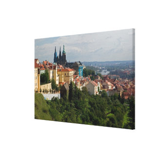 View of Saint Vitus's Cathedral, Prague, Czech Gallery Wrap Canvas