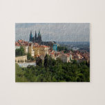 View of Saint Vitus's Cathedral, Prague, Czech Jigsaw Puzzles