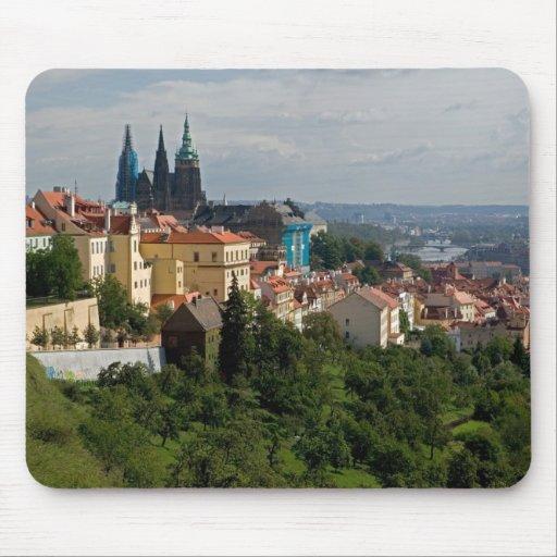 View of Saint Vitus's Cathedral, Prague, Czech Mouse Pad
