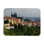 View of Saint Vitus's Cathedral, Prague, Czech Vinyl Magnets