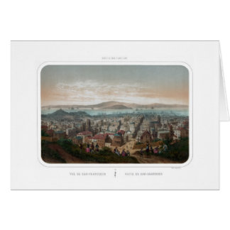 View of San Francisco (1860) Card