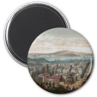 View of San Francisco (1860) magnet