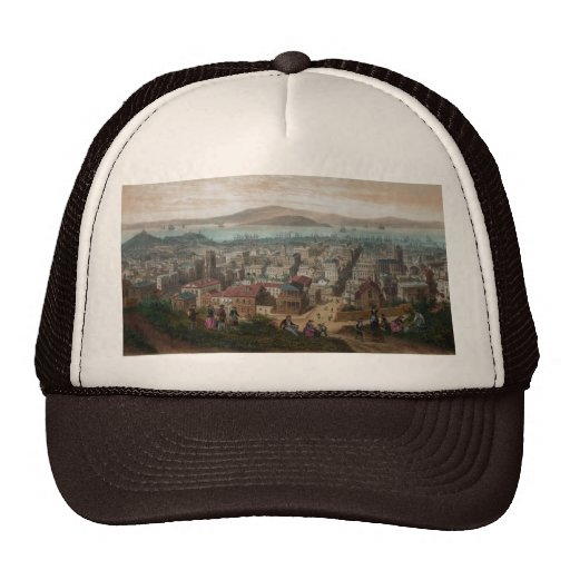 View of San Francisco (1860) Trucker Hat