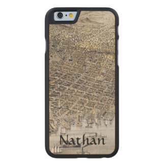 View Of San Francisco, 1878 Carved Maple iPhone 6 Case