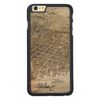 View Of San Francisco, 1878 Carved Maple iPhone 6 Plus Case