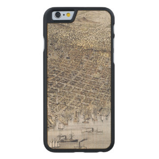 View Of San Francisco, 1878 Carved Maple iPhone 6 Slim Case