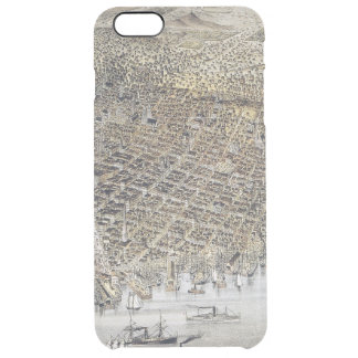 View Of San Francisco, 1878 Clear iPhone 6 Plus Case