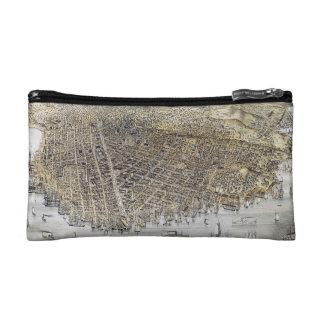 View Of San Francisco, 1878 Makeup Bag