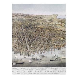 View Of San Francisco, 1878 Postcard