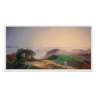 View of San Francisco Bay (0576A) Poster