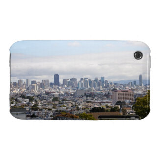 View of San Francisco skyline iPhone 3 Case-Mate Cases