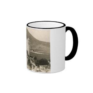 View of San Francisco Vintage Ringer Coffee Mug
