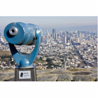 View of San Francsco (Viewer Blurred) Photo Cut Outs