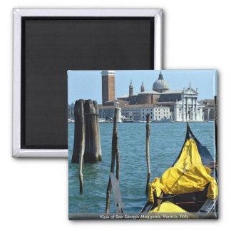 View of San Giorgio Maggiore, Venice, Italy Fridge Magnets