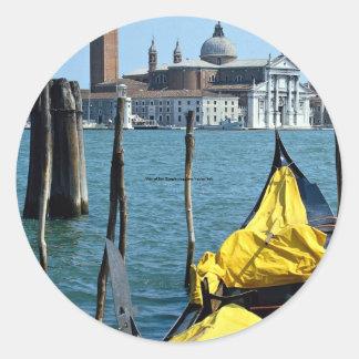 View of San Giorgio Maggiore, Venice, Italy Stickers