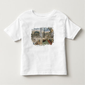 View of San Marco, and the Palazzo Ducale on fire, Toddler T-shirt