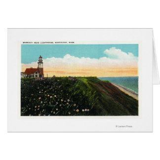 View of Sankaty Head Lighthouse Card