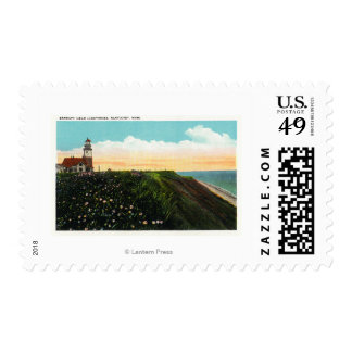 View of Sankaty Head Lighthouse Postage