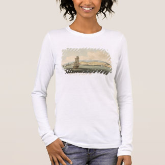 View of Santa Cruz, plate 3 from 'A Voyage to Coch Long Sleeve T-Shirt
